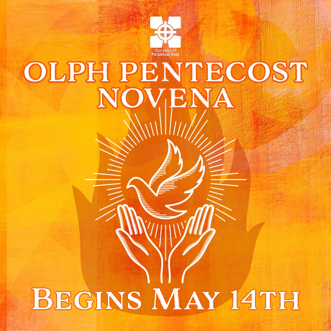 OLPH Pentecost Novena 2021 Promotion Graphic