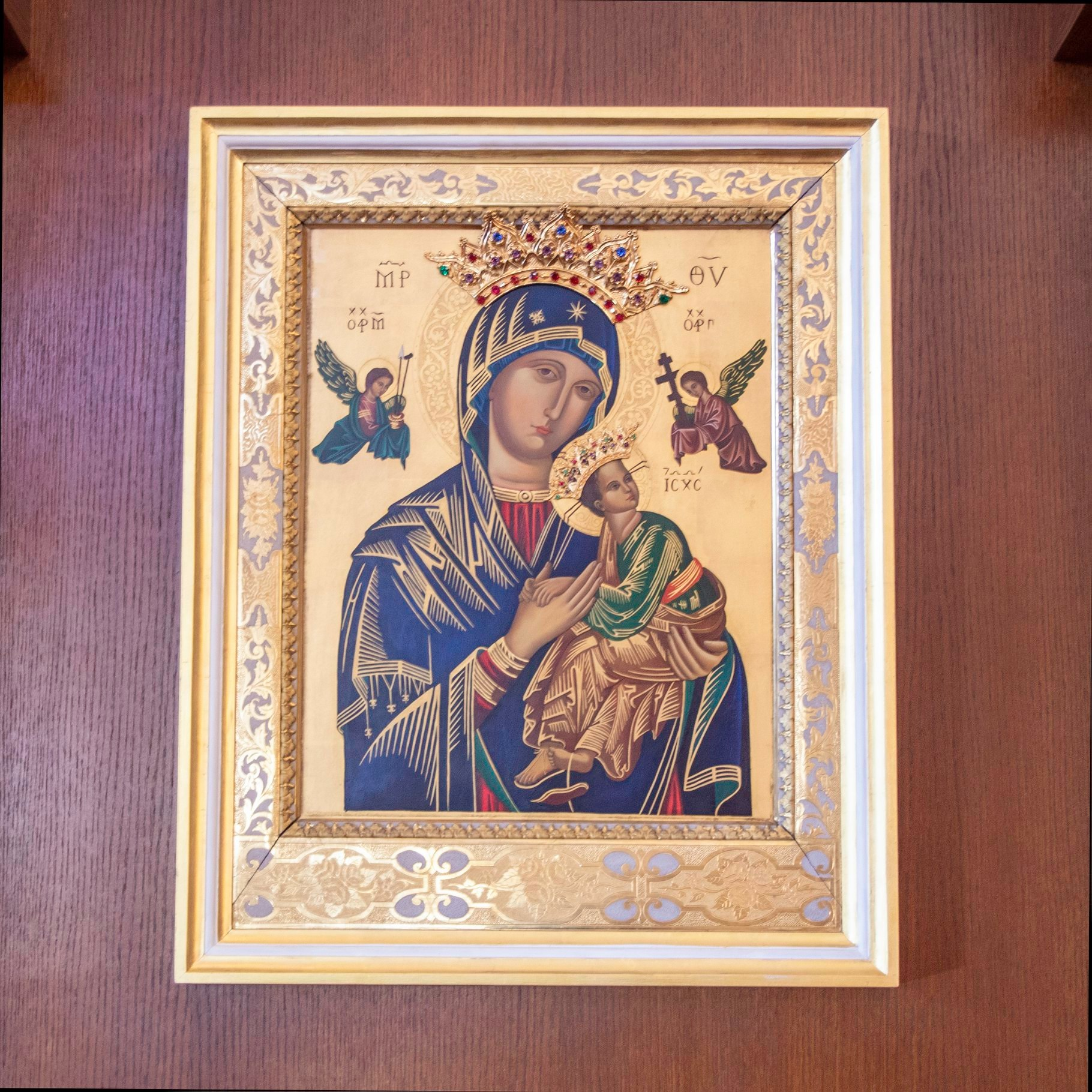 Photograph of the Our Lady of Perpetual Help Icon