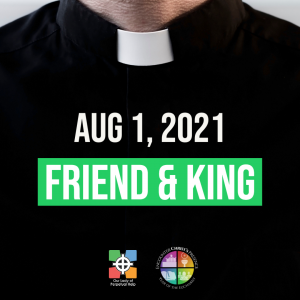 Graphic for father Mike's letter for Sunday, Aug 1, 2021