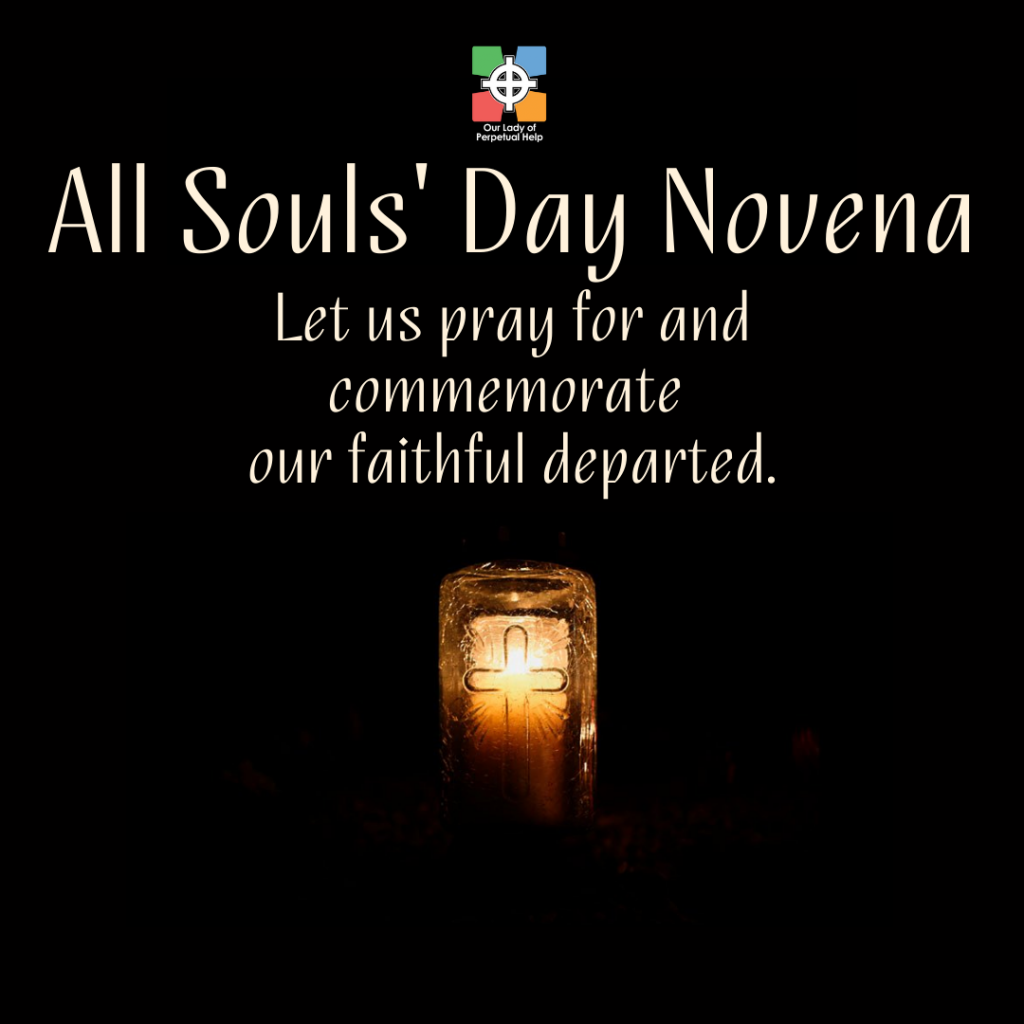 All Souls' Day Novena Graphic