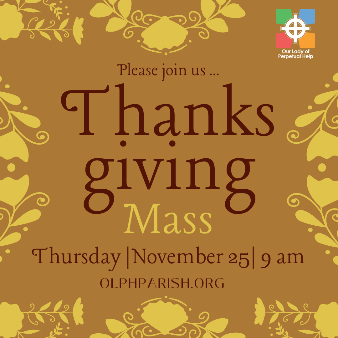 Thanksgiving Mass 2021 graphic