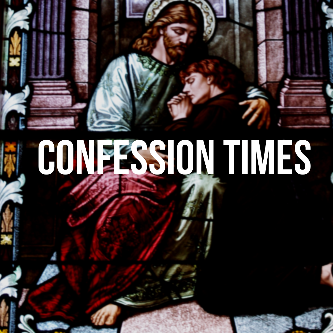 Confession times at OLPH Church in Ellicott City